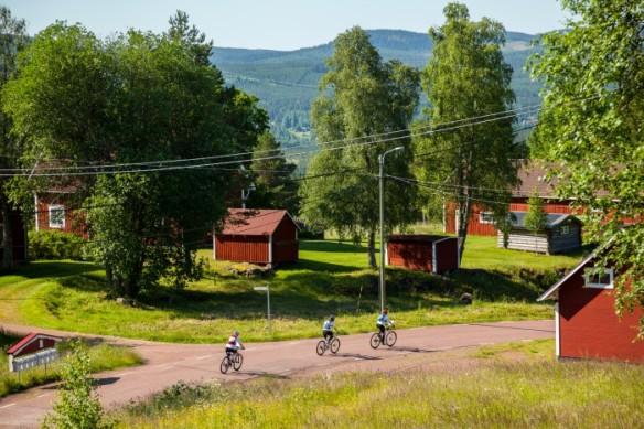 Lag 31 Mot nya mål 2015, på väg ut ur Blyberg på en 8;e plats.